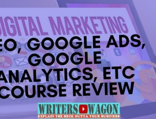 Digital Marketing (SEO, Google ads, Google Analytics, etc) Course Review